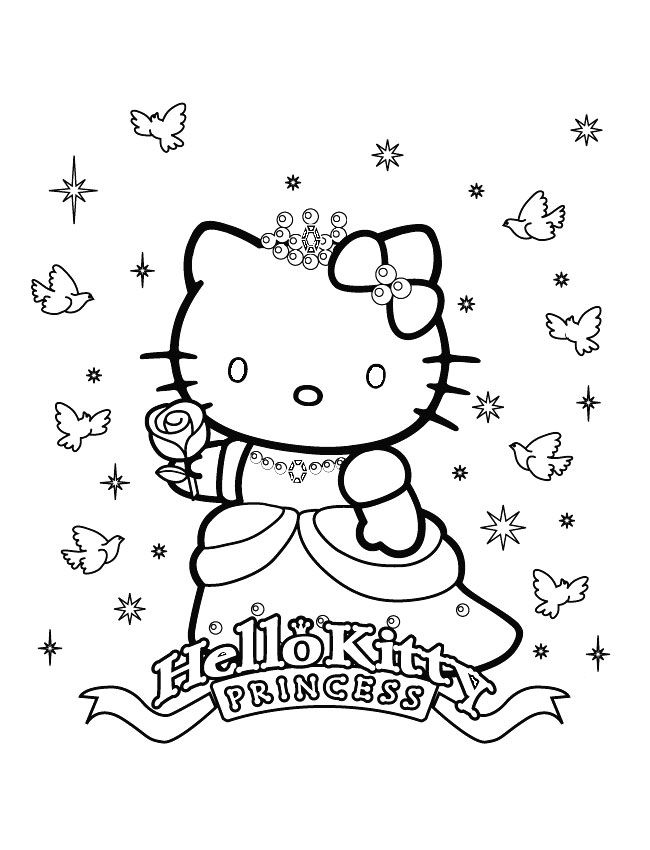 coloriage hello kitty. Black Bedroom Furniture Sets. Home Design Ideas